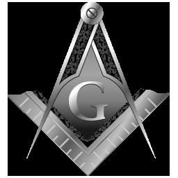 Masonic Square And Compasses (mono)