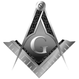 Masonic Square And Compasses (mono)