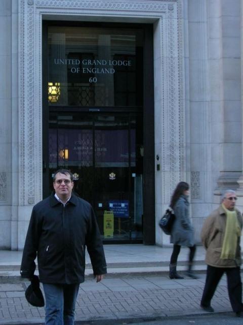 Vizita la UGLE (12.01.2008)