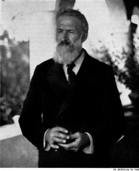 Constantin Brancusi in 1938