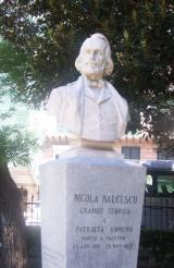 Nicolae Balcescu, bust - Palermo